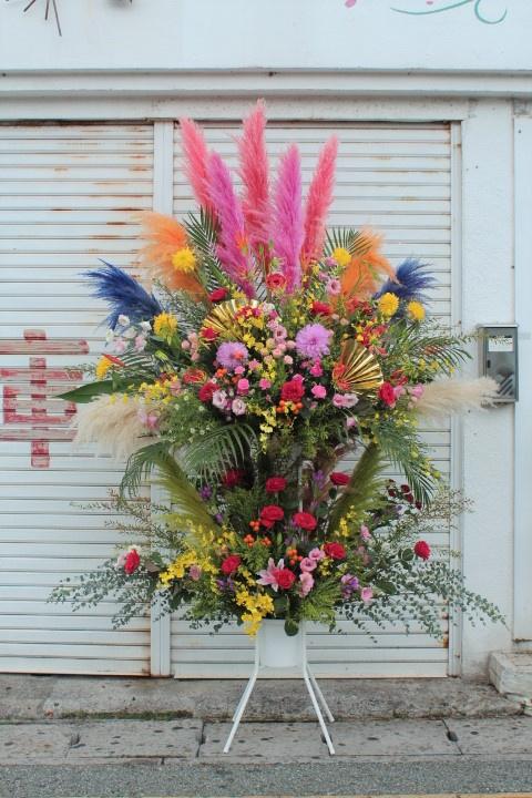 メガスタンド花