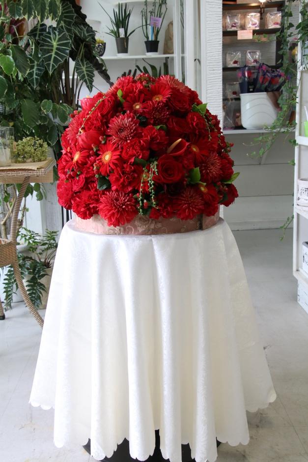 楽屋花 ドーム型